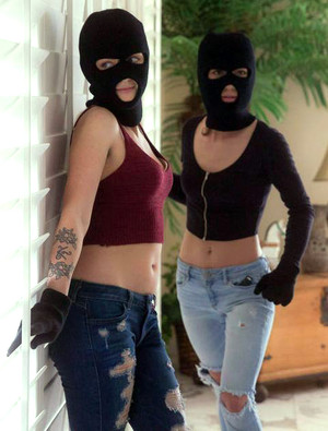 Two young thieves Karla Kush and Ruby..