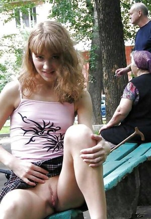 Amateur teen, A teenager with a big..