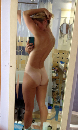 Naked girlfriends taking nude selfshot..