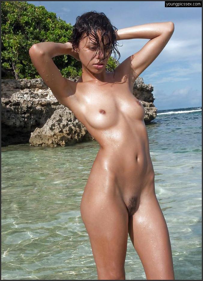 Nackte girls strand